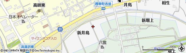 愛知県豊橋市藤並町(新井島)周辺の地図