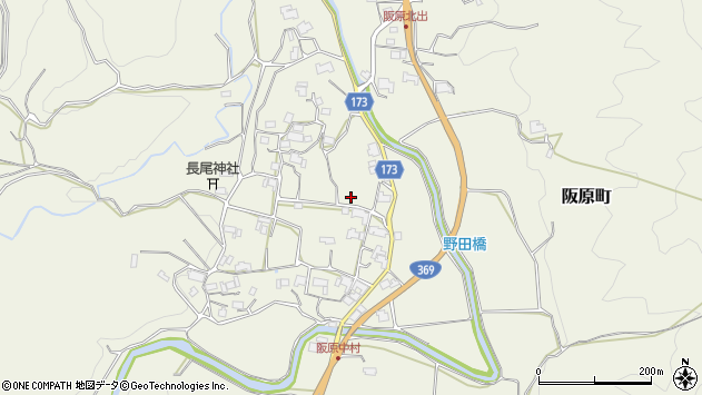 〒630-1241 奈良県奈良市阪原町の地図