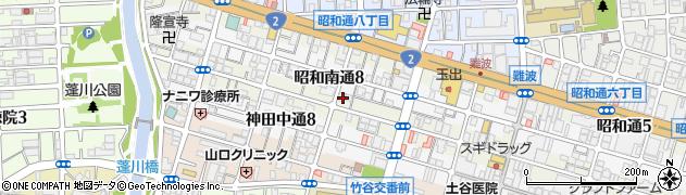 兵庫県尼崎市神田北通7丁目周辺の地図