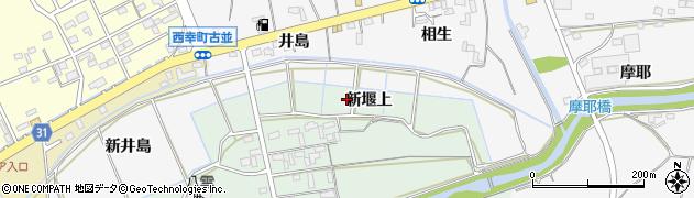 愛知県豊橋市高田町(新堰上)周辺の地図