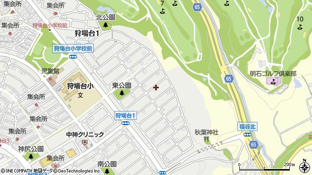 〒651-2272 兵庫県神戸市西区狩場台の地図
