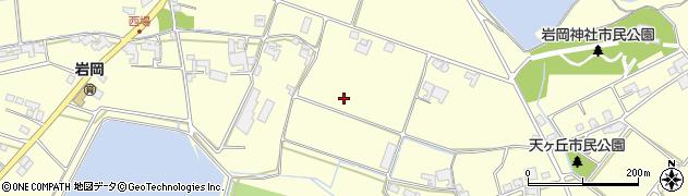 兵庫県神戸市西区岩岡町(岩岡)周辺の地図