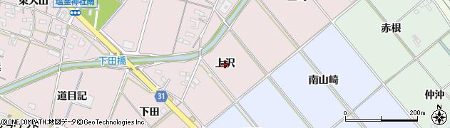愛知県豊橋市駒形町(上沢)周辺の地図