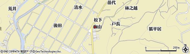 愛知県南知多町(知多郡)山海(向山)周辺の地図