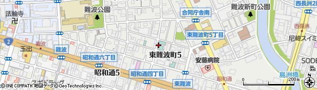 兵庫県尼崎市東難波町5丁目周辺の地図