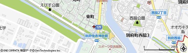 兵庫県加古川市別府町(東町)周辺の地図