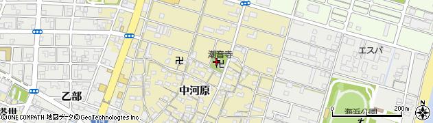 潮音寺周辺の地図