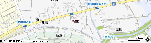愛知県豊橋市藤並町(相生)周辺の地図