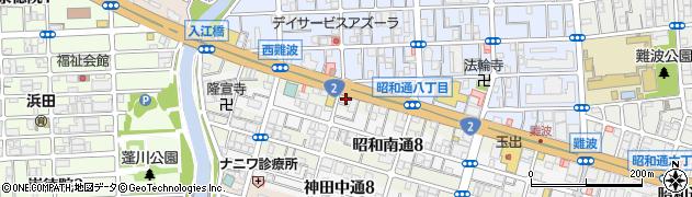 兵庫県尼崎市昭和通8丁目周辺の地図