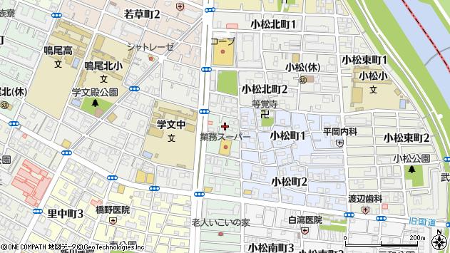 〒663-8125 兵庫県西宮市小松西町の地図
