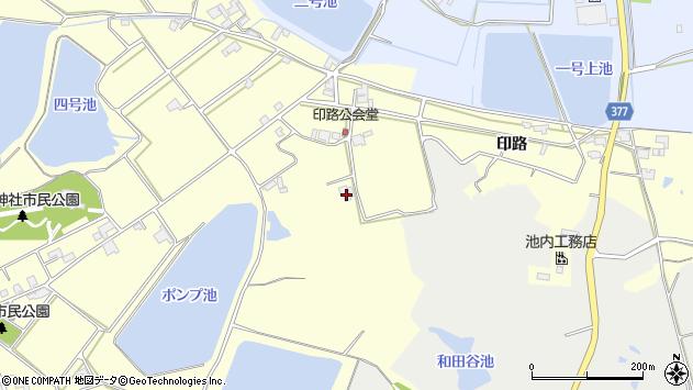 〒651-2402 兵庫県神戸市西区岩岡町印路の地図