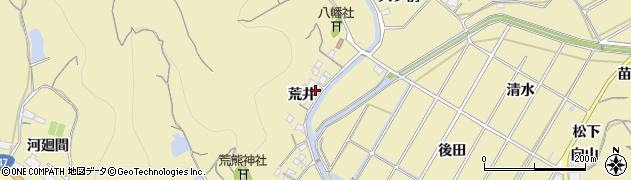 愛知県南知多町(知多郡)山海(荒井)周辺の地図