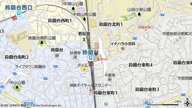 〒651-1100 兵庫県神戸市北区(以下に掲載がない場合)の地図