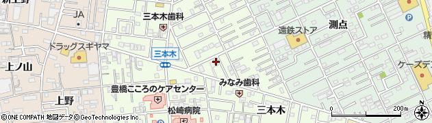 剛ノ家周辺の地図