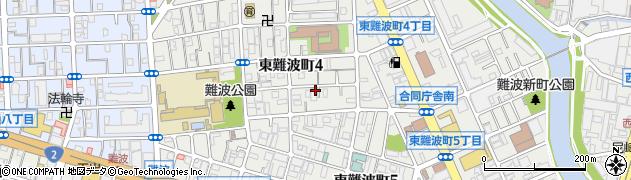 兵庫県尼崎市東難波町4丁目周辺の地図