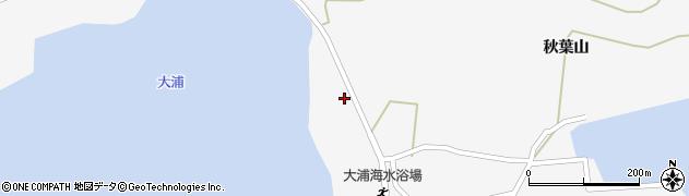 愛知県西尾市一色町佐久島(古々畑)周辺の地図