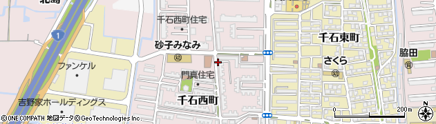 門真住宅周辺の地図