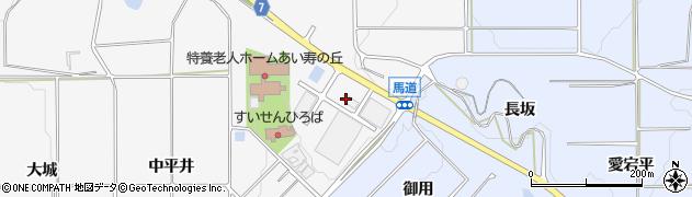 愛知県南知多町(知多郡)豊丘(馬道)周辺の地図