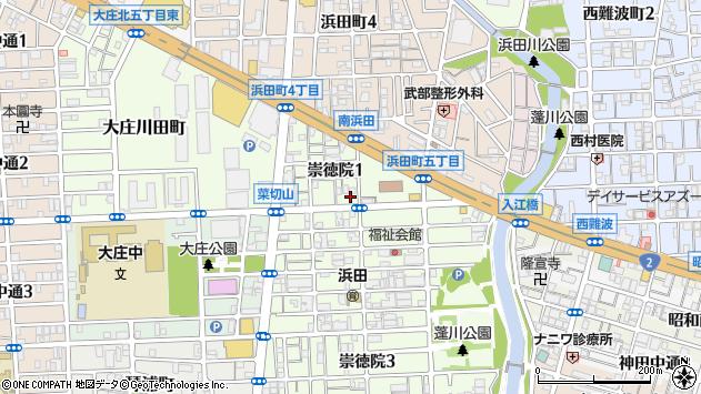 〒660-0071 兵庫県尼崎市崇徳院の地図