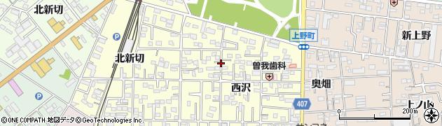 愛知県豊橋市高師町周辺の地図