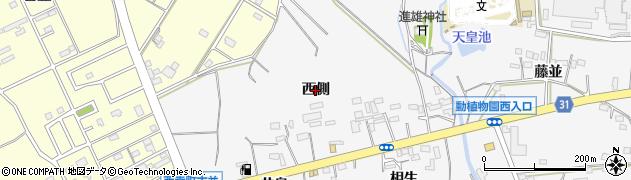 愛知県豊橋市藤並町(西側)周辺の地図