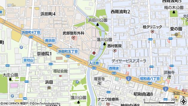 〒660-0061 兵庫県尼崎市蓬川荘園の地図