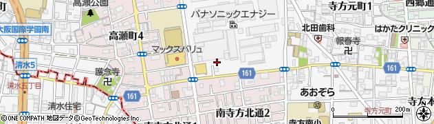 大阪府守口市松下町周辺の地図