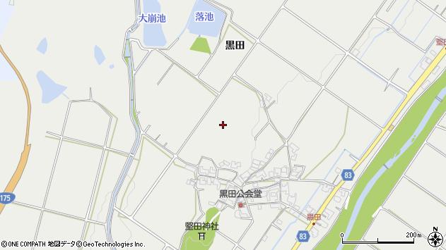 〒651-2268 兵庫県神戸市西区平野町黒田の地図