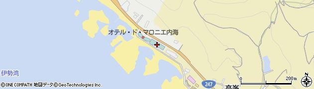 しぼりや周辺の地図