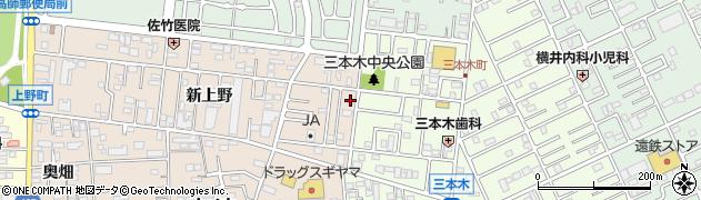 タモン周辺の地図