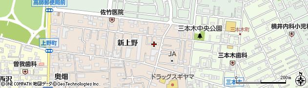 愛知県豊橋市上野町上野 住所一覧から地図を検索