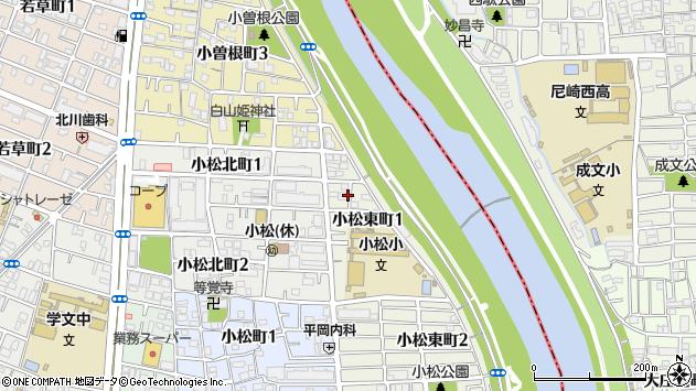 〒663-8123 兵庫県西宮市小松東町の地図