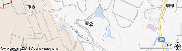 愛知県南知多町(知多郡)豊丘(志水)周辺の地図