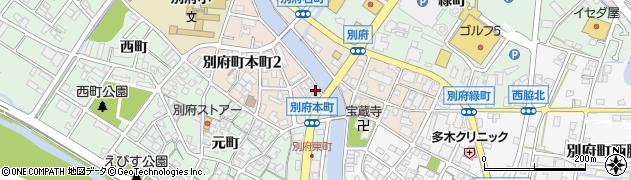 兵庫県加古川市別府町本町周辺の地図