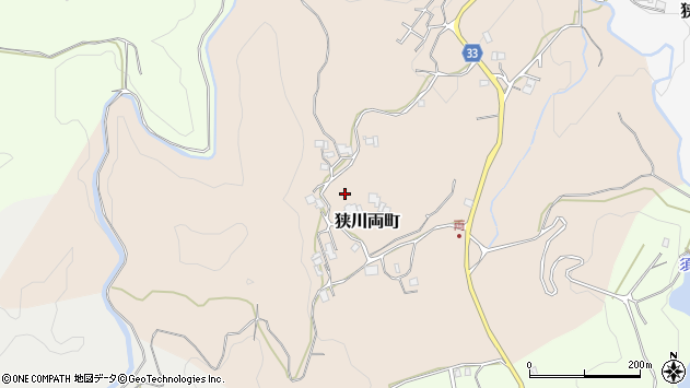 〒630-1104 奈良県奈良市狭川両町の地図