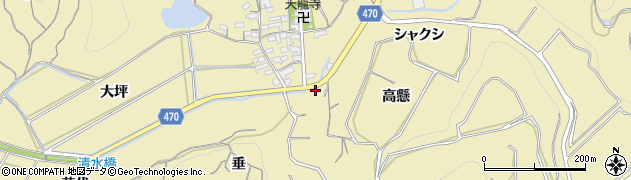 愛知県南知多町(知多郡)山海(鈴木)周辺の地図