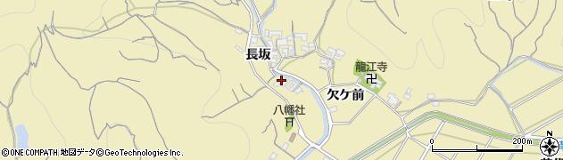 愛知県南知多町(知多郡)山海(長坂)周辺の地図
