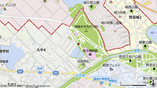 〒675-0142 兵庫県加古郡播磨町大中の地図