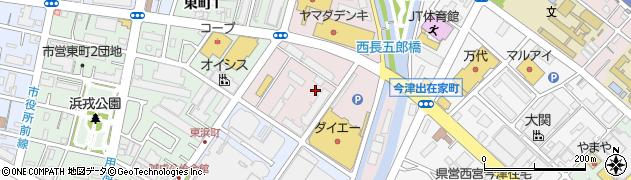 兵庫県西宮市浜松原町周辺の地図