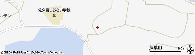 愛知県西尾市一色町佐久島(江名)周辺の地図