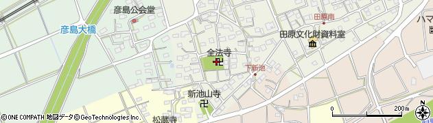 全法寺周辺の地図