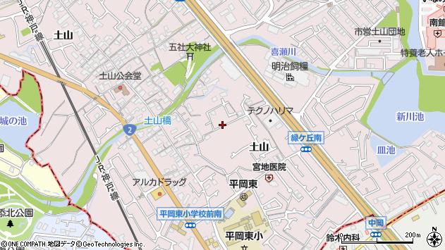 〒675-0104 兵庫県加古川市平岡町土山の地図