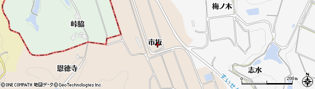 愛知県南知多町(知多郡)豊浜(市坂)周辺の地図