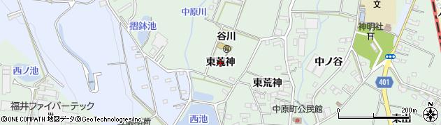 愛知県豊橋市中原町(東荒神)周辺の地図