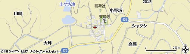 愛知県南知多町(知多郡)山海(小山)周辺の地図