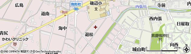 愛知県豊橋市駒形町周辺の地図