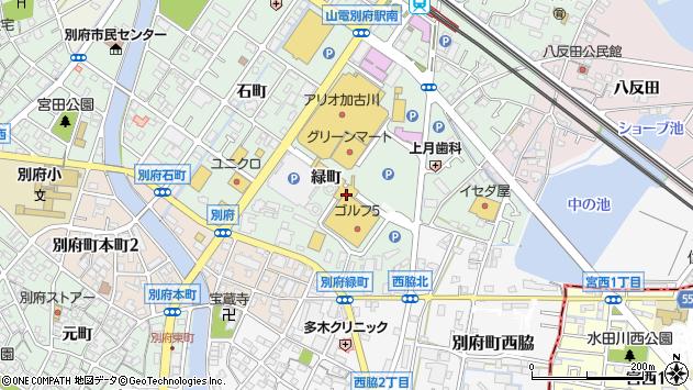 〒675-0124 兵庫県加古川市別府町緑町の地図