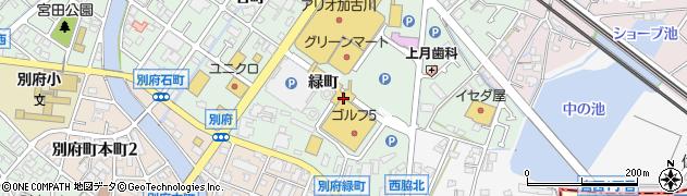 兵庫県加古川市別府町(緑町)周辺の地図