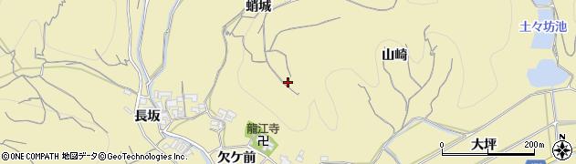 愛知県南知多町(知多郡)山海(蛸城)周辺の地図