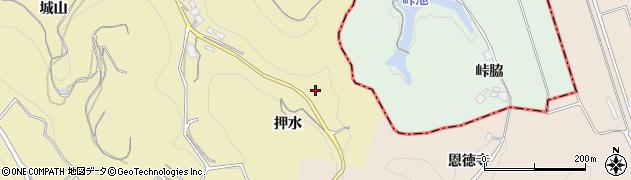 愛知県南知多町(知多郡)山海(押水)周辺の地図